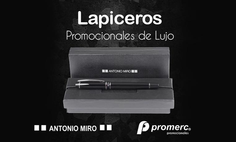 Lapiceros Promocionales de Lujo Promerc marca - Antonio Miro -
