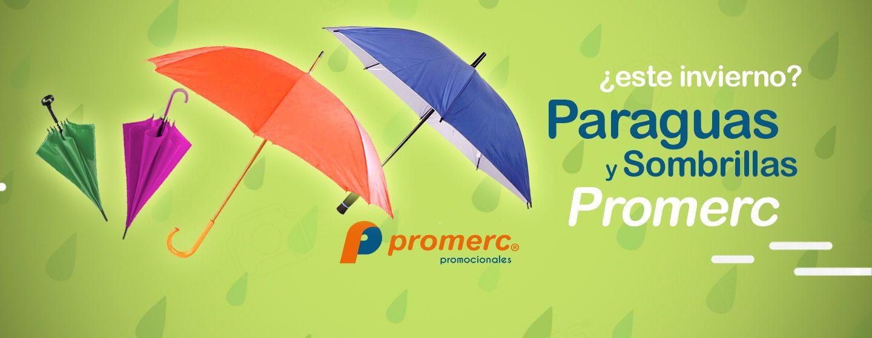 Paraguas & Sombrillas Promerc personalizados con su marca impresa
